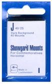 Showgard 40 x 25 mm Pre-Cut Mounts