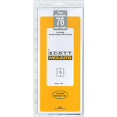 76 x 265 mm Scott Mount (Scott 1060 B/C)