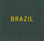 Scott Brazil Specialty Binder Label