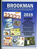 2019 Brookman Catalog for US, UN and Canada Stamps