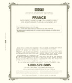Scott France Stamp Album Supplement, 2018 #53