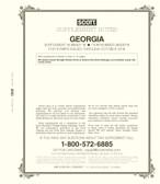 Scott Georgia Stamp Album Supplement, 2018, No. 18