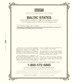 Scott Baltic States Stamp Album Supplement 2018, No. 27