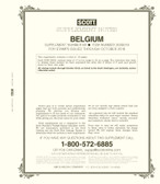 Scott Belgium Stamp Album Supplement, 2018 #69