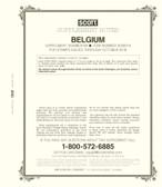 Scott Belgium Stamp Album Supplement, 2018 #69