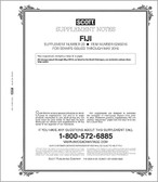Scott Fiji Stamp Album Supplement, 2016, No. 22