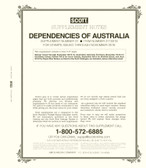 Scott Australia Dependencies Album Supplement, 2018 #31