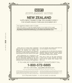 Scott New Zealand Stamp Album Supplement, 2017 #33