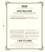 Scott New Zealand Stamp Album Supplement, 2018 #34