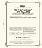 Scott New Zealand Dependencies Stamp Album Supplement, 2018 #70