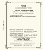 Scott Dominican Republic  Stamp Album Supplement, 2017 #20