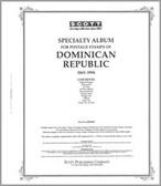 Scott Dominican Republic  Stamp Album Part 1 (1865 - 1994)