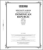 Scott Dominican Republic  Stamp Album Part 2 (1995 - 2008)