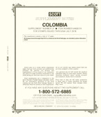 Scott Colombia Stamp Album Supplement, 2018 #21