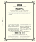 Scott  Moldova Stamp  Album Supplement, 2017 #19