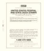 Scott Federal and State Duck Permit Supplement, 2018, No. 32
