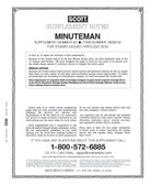 Scott Minuteman Album Supplement, 2018,  #50