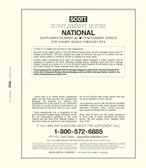 Scott National Album Supplement, 2018 #86
