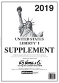 2019 H. E. Harris Liberty I Album Supplement  - Pre-order Now!!