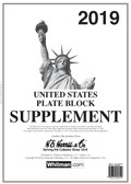 2019 H. E. Harris U.S. Plate Block Album Supplement - Pre-order Now!