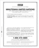 Scott United Nations Minuteman Album Supplement, 2019 #29