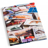"""Lighthouse """"Stamps"""" Hardcover Stockbook - 32 pages"""