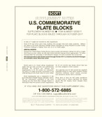 Scott US Commemorative Plate Block Supplement, 2017 #68