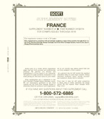 Scott France Stamp Album Supplement, 2019 #54