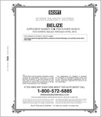 Scott Belize Stamp Album Supplement, 2012 #9