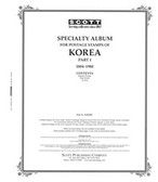 Scott Korea Album Pages, Part 1 (1884 - 1980)