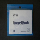 Showgard 57 x 55 mm Pre-Cut Mounts