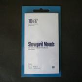 Showgard 105 x 57 mm Pre-Cut Mounts