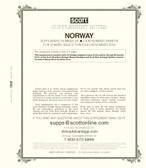 Scott Norway Stamp Album Supplement, 2019 #24
