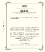 2019 Scott Mexico Album Supplement, No.  71