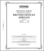 Scott Great Britain Offices Abroad Album Pages (1885 - 1956)