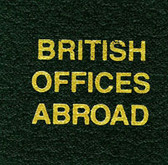 Scott Great Britain Offices Abroad Specialty Binder Label