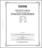 Scott Italian Colonies Album Pages (1892 - 1960)