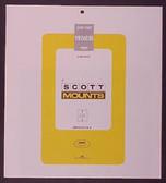Scott Mounts Souvenir Sheets/Small Panes -  192 x 230 mm (1017 B/C)