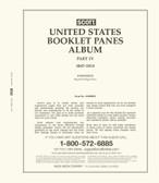 Scott US Booklet Panes Album Pages, Part 4 (2007 - 2015)