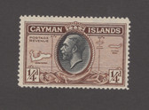 Cayman Islands Scott 85, MNH