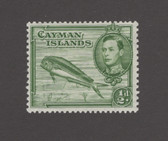 Cayman Islands Scott 101, H