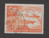Cayman Islands Scott 118, Used