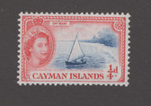 Cayman Islands Scott 135, MNH