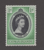 Cayman Islands Scott 150, MNH