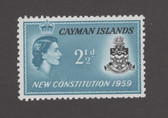 Cayman Islands Scott 151, MNH