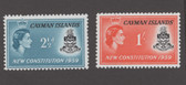 Cayman Islands Scott 151 - 152, MNH