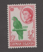 Cayman Islands Scott 153, MNH