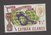 Cayman Islands Scott 182, MNH