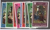 Cayman Islands Scott 277 -  282, MNH