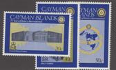 Cayman Islands Scott 434 - 436, MNH